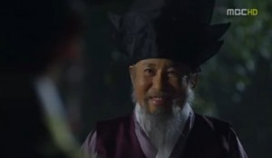 Lord Choi and his favourite Jung Ja Gwan - Arang and the Magistrate